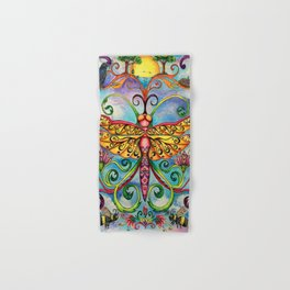 Summer of the Dragonfly Hand & Bath Towel
