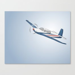 Child's Airplane Canvas Print