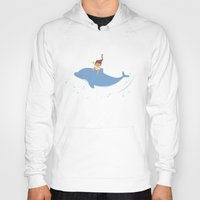 dolphin Hoodies featuring Dolphin by Avondster