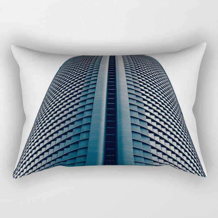Skyscraper in Madrid Rectangular Pillow
