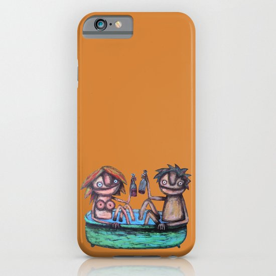 In the bath iPhone & iPod Case