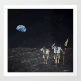 Space Cadets Art Print