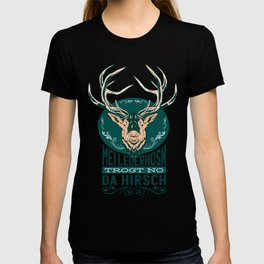 My leather pants carries only the deer Bavarian T-shirt
