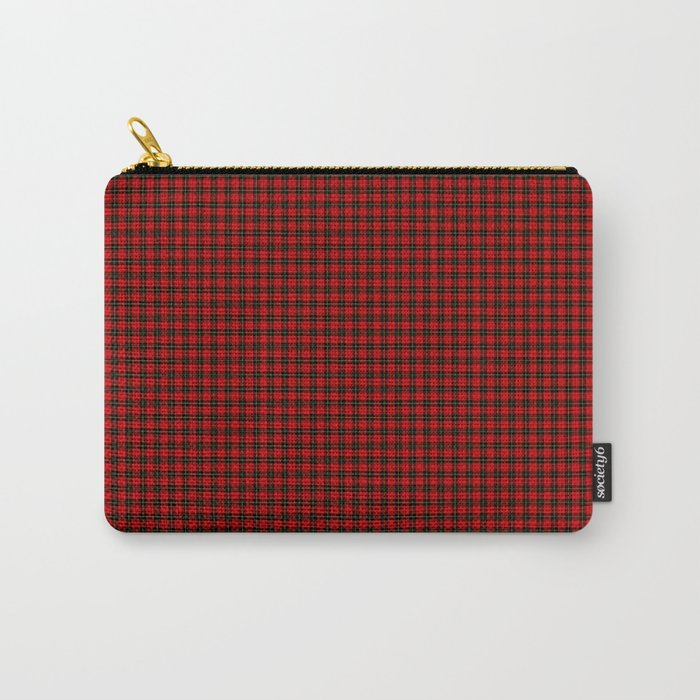 Wallace Tartan Carry-All Pouch