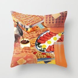 The Most Important Meal Throw Pillow