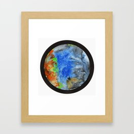 Space Confined Framed Art Print