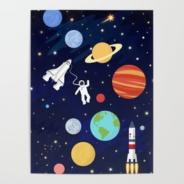 In space Poster
