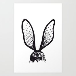 Dirty Lace Art Print
