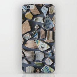 Pottery display iPhone Skin