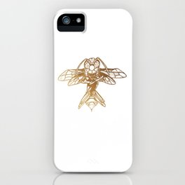 Golden Hornet iPhone Case