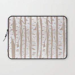 Woodcut Birches Laptop Sleeve