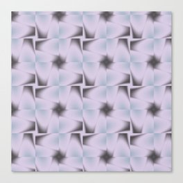 Origami Tiles Fractal in TPGY Canvas Print