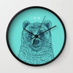 I Like You (Bear) Wall Clock