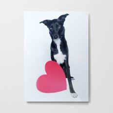Little Valentine Metal Print