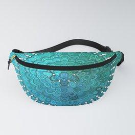 Turquoise Mandala Fanny Pack