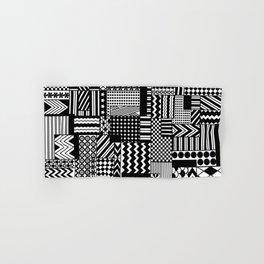 Patchwork Pattern Hand & Bath Towel