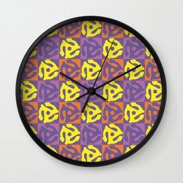 45 RPM Wall Clock