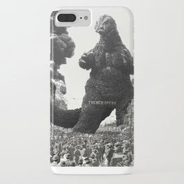 New Orleans Godzilla Attack 1908 iPhone Case