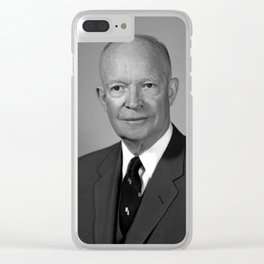 President Dwight Eisenhower Clear iPhone Case