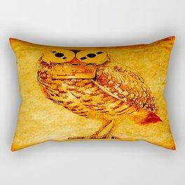 The owl recorder Rectangular Pillow
