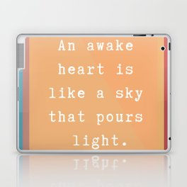 Hafiz -  An Awake Heart Laptop & iPad Skin