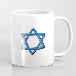 Shield of David. Star of David Coffee Mug