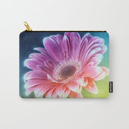 The Gerbera Rainbow Carry-All Pouch
