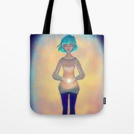 Fuente de luz Tote Bag