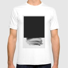 XY246 White MEDIUM Mens Fitted Tee