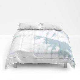 palm shadow Comforters