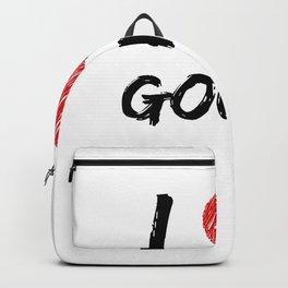 I Love Gouda Backpack