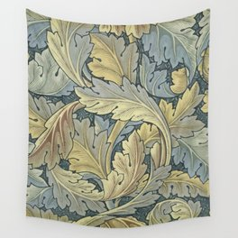 William Morris Acanthus Leaves Floral Art Nouveau Wall Tapestry