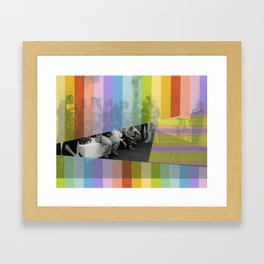 Kodachrome Reunion Framed Art Print