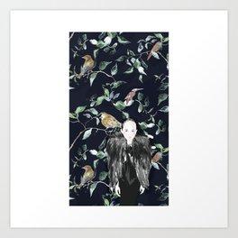 bird land Art Print