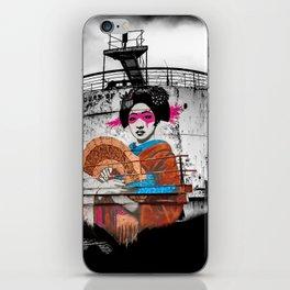 Geisha Graffiti iPhone Skin