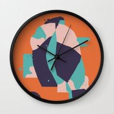 Lifeform #1 Wall Clock