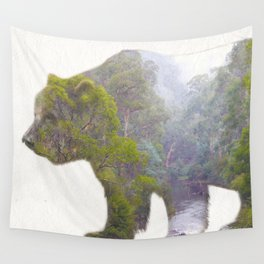 The Grizzly Bear Wall Tapestry
