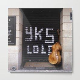 yK5 Bass Metal Print
