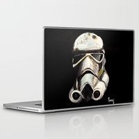 storm trooper Laptop & iPad Skins featuring Storm Trooper by Panxy_Art