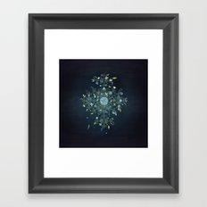 Fractal Spring Framed Art Print