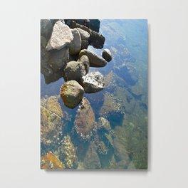 Colour of Stone Metal Print
