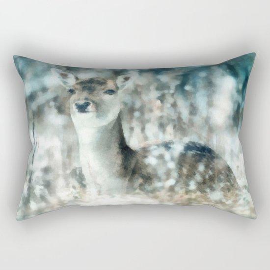 Roe deer Rectangular Pillow