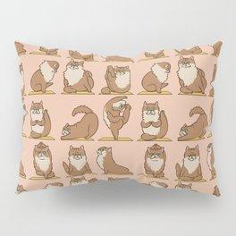 Maine Coon Yoga Pillow Sham