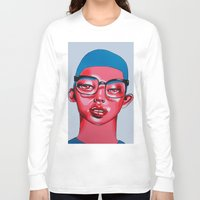austin Long Sleeve T-shirts featuring AUSTIN by Zelda Bomba