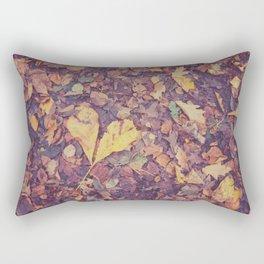 Love in Autumn Time Rectangular Pillow