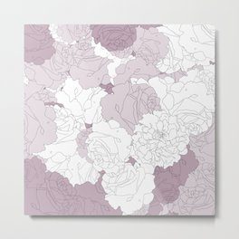 Tender Roses Metal Print