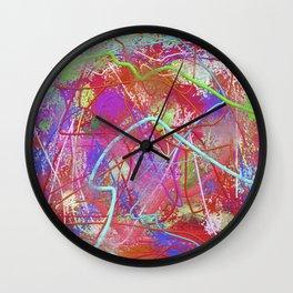 Blot 3 Wall Clock