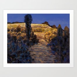 One afternoon Art Print