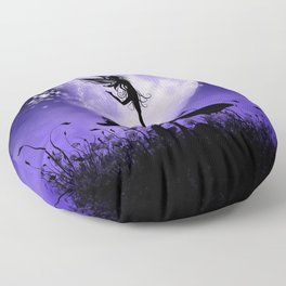Fairy Silhouette 2 Floor Pillow