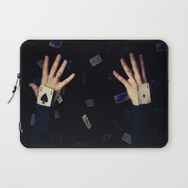 aces in sleeve Laptop Sleeve
